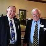 Gary Drennon, TN Dept. Commander, The American Legion John Furgess, Past National C-in-C, VFW & Foundation Board Member