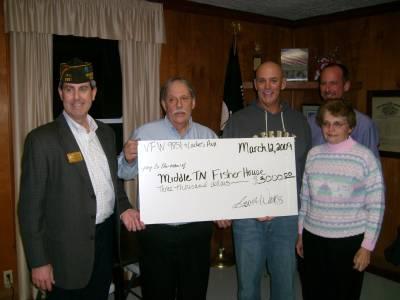 VFW donates $3,000