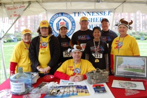 TN Fisher House Board Members with James Hunt and parent as Commissioner of Veterans Affairs Many=Bears Grinder