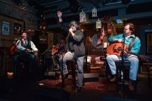 Tim, Randy and Larry at the Hard Rock Cafe Nashville Oct. 22