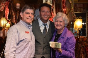 """Keith, Tim, and Andrea  """"Showing off some of the Money!"""