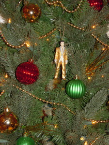 Elvis is in the building making it officially a 'Tennessee' tree.