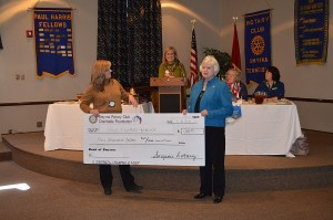 SMYRNA ROTARY PRESENTS 'BIG CHECK'!