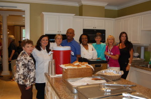 Montel, his staff and FH Volunteers