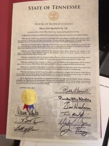 Joint Resolution from House of Representatives