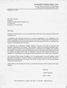 2017 2018 Audit Letter