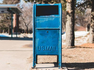 Mail a donation